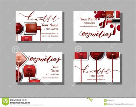 Makeup Artist Business Card. Vector Template With Makeup Is Business Card Personal Use Virtual Youtube Us Bank Change Form Cards By Vistaprint University Of Kentucky Holder On Platinum Best