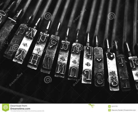black and white vintage typewriter macro letters 8 x 12 black and white typewriter stock photo image 1211770 44059