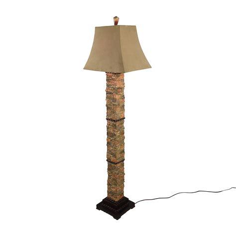 76% Off  Uttermost Uttermost Andean Stone Floor Lamp Decor