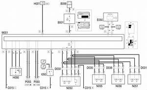 E3040 Central Locking - Wiring Diagram  5 Door