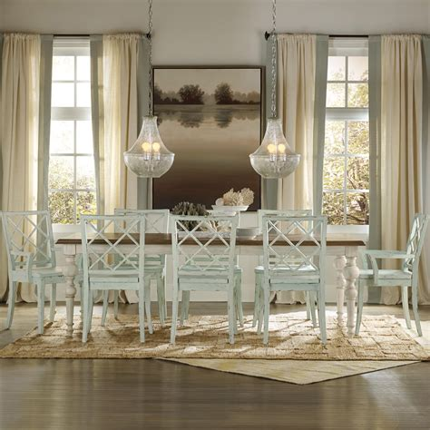 40788 coastal kitchen tables casual cottage coastal 9 table chair set by
