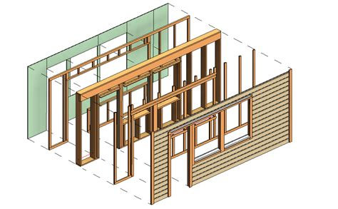 wood framing wall  revit autodesk app store