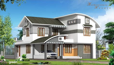 Architecture Kerala: A Beautiful House Elevation, Kerala