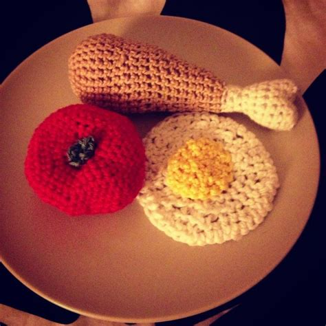 crochet cuisine crochet food crochet patterns