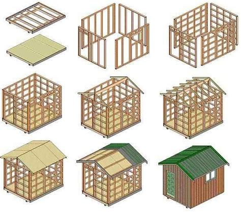 tool shed plans construct   shed workshop cool