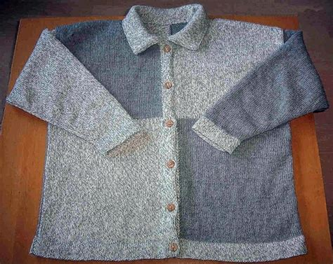 jacke stricken glatt rechts mode kleidung