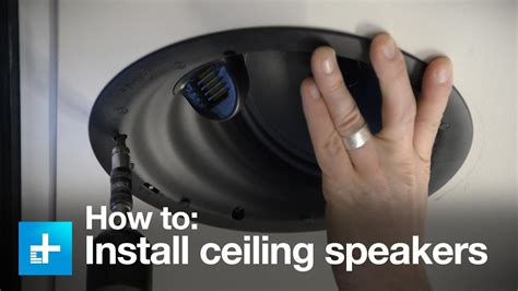 install  ceiling speakers   golden ear