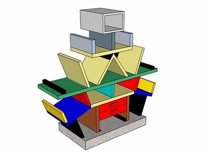 1981 Carlton Dresser Frankenstein Island Sottsass Materials