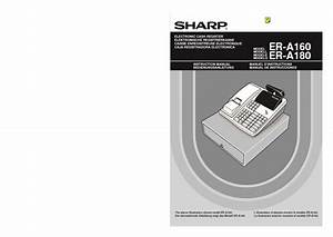 Sharp Er  Operation Manual