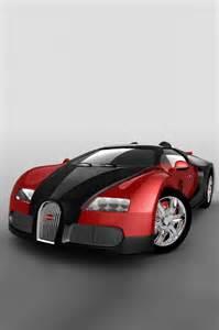Awesome Red Bugatti