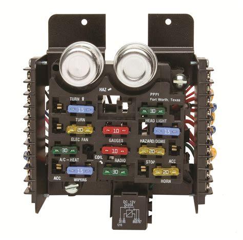 painless wiring 30001 fuse block 12 circuit universal kit ebay