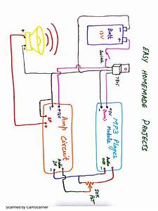 Pdf Archive  New Doc 27 By Camscanner - Wiring Diagram For Mp3 Player Pdf  1