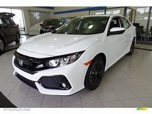 2017 White Orchid Pearl Honda Civic EX Hatchback ...