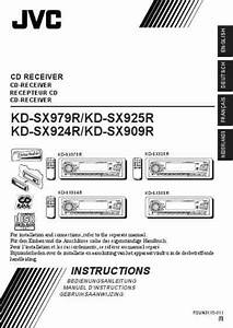 Jvc Kd Sx 909 R Car Radio Download Manual For Free Now