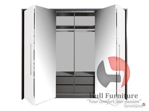 wardrobe bonita  whitemirror  bi fold doors