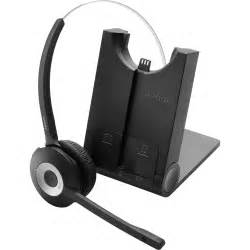 Jabra Pro 935 For Microsoft Lync - Mono - Wireless - 300 ft - Over-the-head, Behind-the-neck, Over-the-ear - Monaural - Supra-aural - Noise Cancelling Microphone