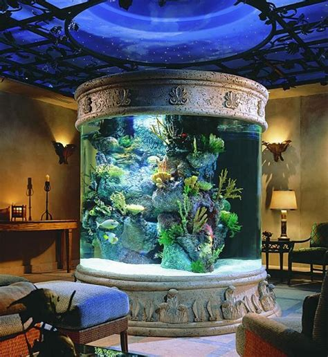 35 aquariums and custom tropical fish tanks for unique interior design