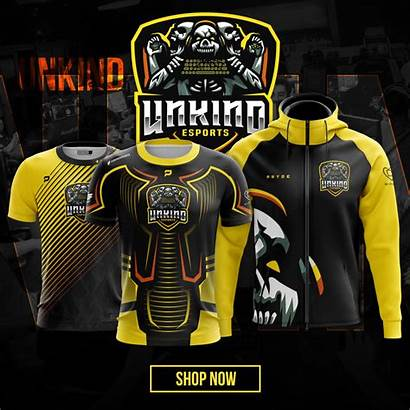Esports Apparel Team Unkind Custom Pryde Jerseys
