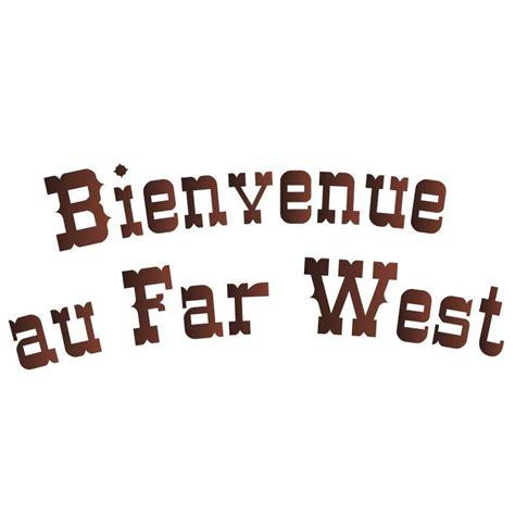 sticker cowboys  indiens bienvenue au  west idees