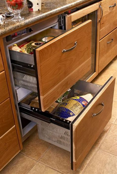 undercounter refrigerator drawers   place