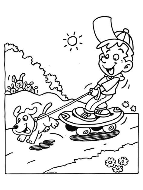 Kleurplaten Schattige Honden by Kleurplaten Schattige Honden Frosch Mit Libelle Und