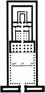 Temple of Edfu Plan | ClipArt ETC