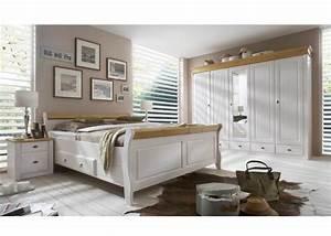 Schlafzimmer komplett emma at17655 kiefer massiv weiss emma for Ebay schlafzimmer komplett