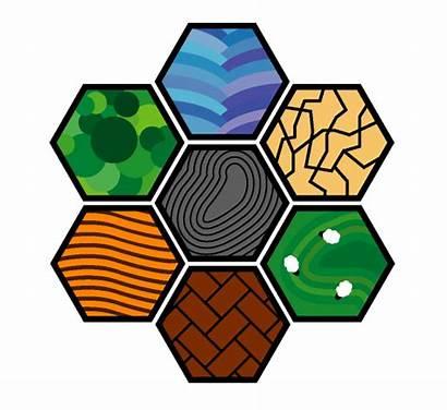 Catan Tiles Settlers Clipart Tile Custom Super