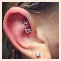 cool cartilage earrings rook ear piercing all about rook piercings