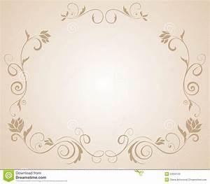 Wedding Floral Border Stock Vector - Image: 53350129