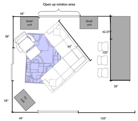 family room floor plans how to give your crowded or bare room a polished look