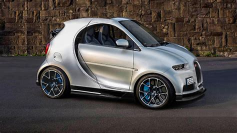 Smart : Someone Has Merged A Smart With A Bugatti Chiron. Oh My