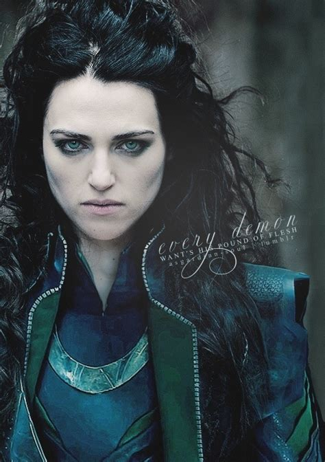 Katie Mcgrath As An Empowered Lady Loki Not The