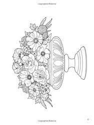 Image result for dover coloring book floral bouquets