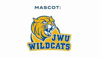 University Jwu Mascot Wales Johnson Transparent Wildcats