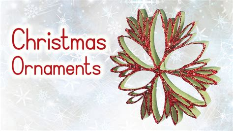 diy christmas crafts christmas ornaments form paper