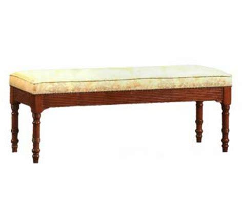 banquette bout de lit banquette coffre bout de lit bengale