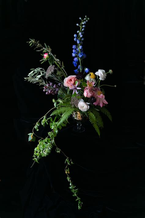dutch master inspired floral fine art  emilia jane