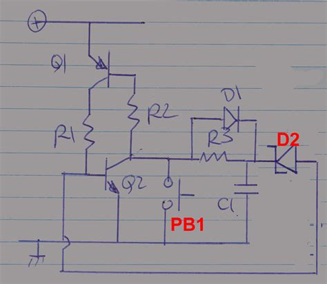 Digital Logic How Improve This Power Off Circuit