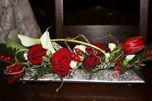 Art Floral Centre De Table Noel : centre de table no l photo de art floral art floral ~ Melissatoandfro.com Idées de Décoration