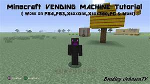Minecraft VENDING MACHINE Tutorial - YouTube