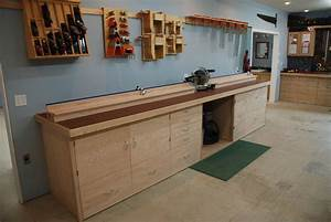 Miter Saw Bench - by WoodScrap @ LumberJocks com