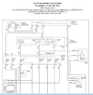 Repair Manuals Honda Crv Wiring Diagram