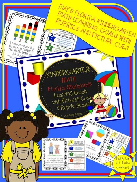 mafs fla kindergarten math learning goals with 2 sets of 671 | bf1ce438ca3eb16596afcde234d186e9 florida standards learning goals