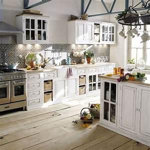 les 25 meilleures idees de la categorie cuisine shabby With meuble de cuisine maison du monde 0 meuble bas de cuisine avec evier en manguier blanc l 140