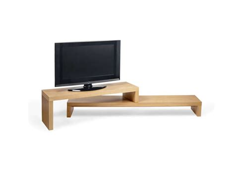 canapé bas design meuble tv design blanc 125 cm skien
