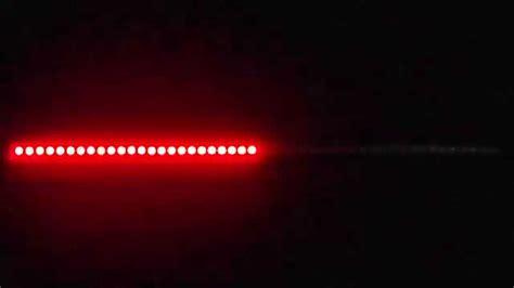 Knight Rider Led Scanner Light Bar Youtube