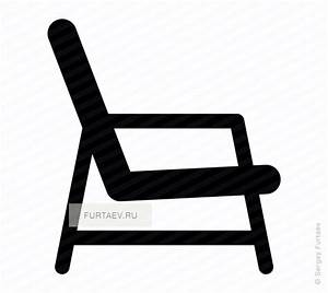 Chair vector icon