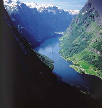 Fjord Name Meaning by Finding Green It In The Fjords Of Norway