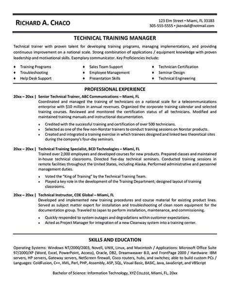 Fitness Instructor Resume by Fitness And Personal Trainer Resume Exle Recentresumes